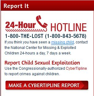 report it missingkids.org
