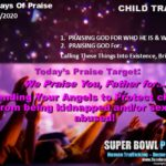 Day #2 of 20 Days Of Praise Targets – SBPP 2020